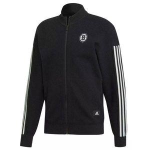 Boston Bruins Adidas NHL Mens XL Black Jacket